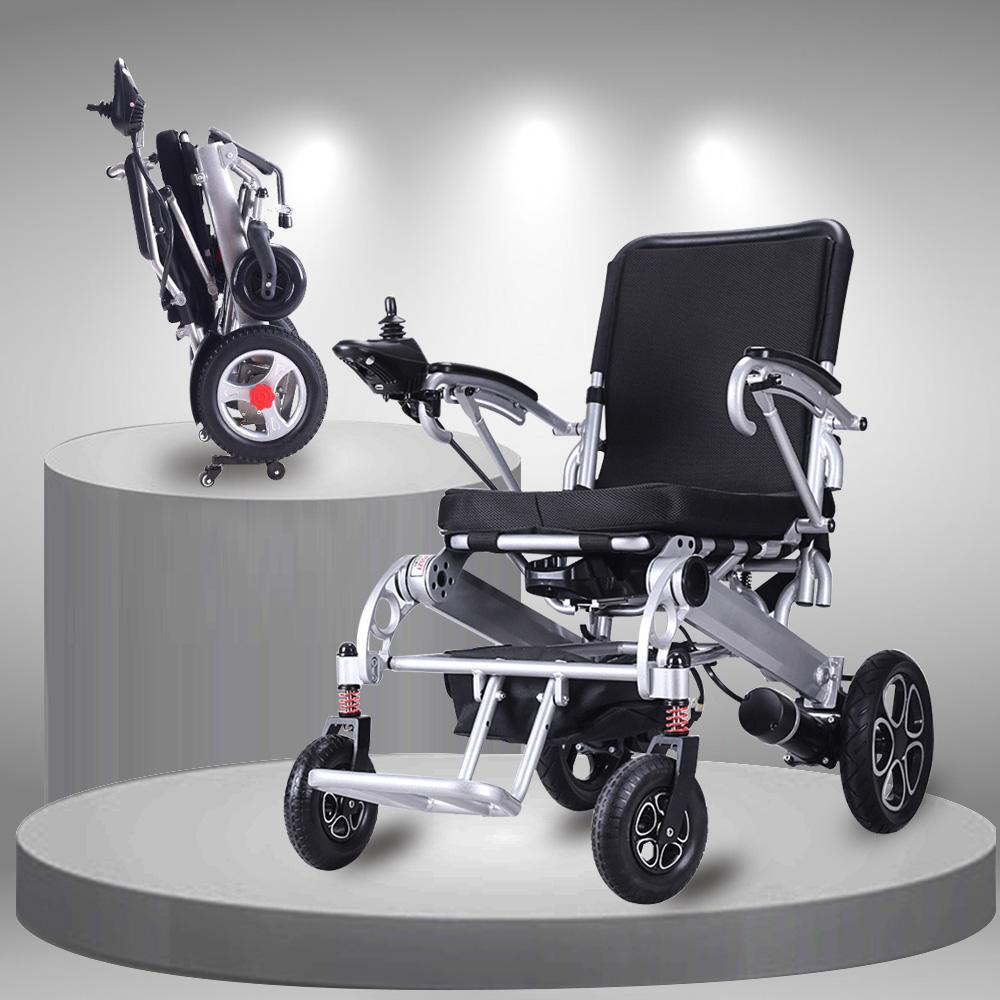Xe lăn điện gấp thông minh cao cấp đa chức năng dành cho người già, người khuyết tật TM099