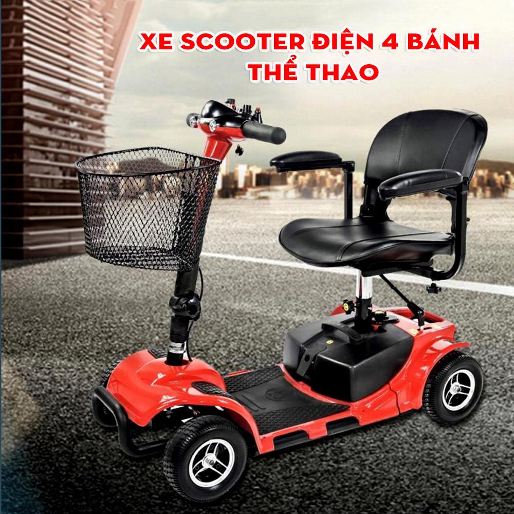 Xe scooter điện 4 bánh được ưa chuộng trên thế giới