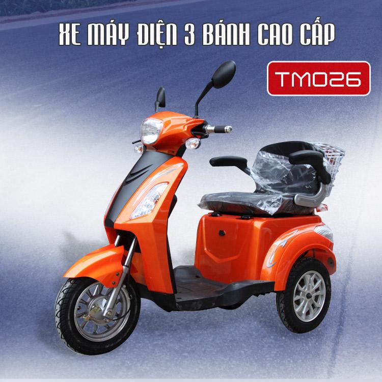 Xe mô tô điện 3 bánh mô phỏng xe tay ga cao cấp  1