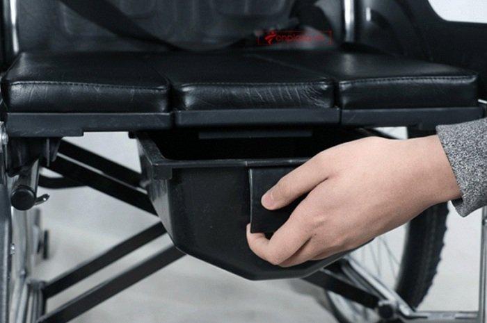 Bộ phận bô vệ sinh có thể tháo lắp dễ dàng