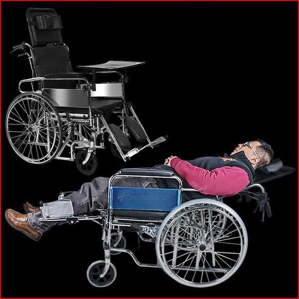 Chọn mua xe lăn tay có thể nằm cho người già