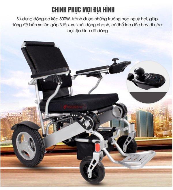 Chọn sản phẩm xe lăn có động cơ tốt