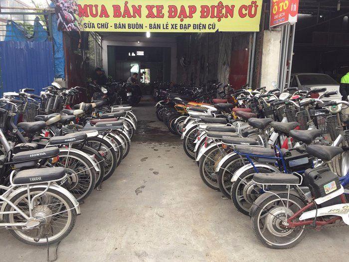 Dòng xe đạp điện cũ giá rẻ dành cho người thu nhập thấp