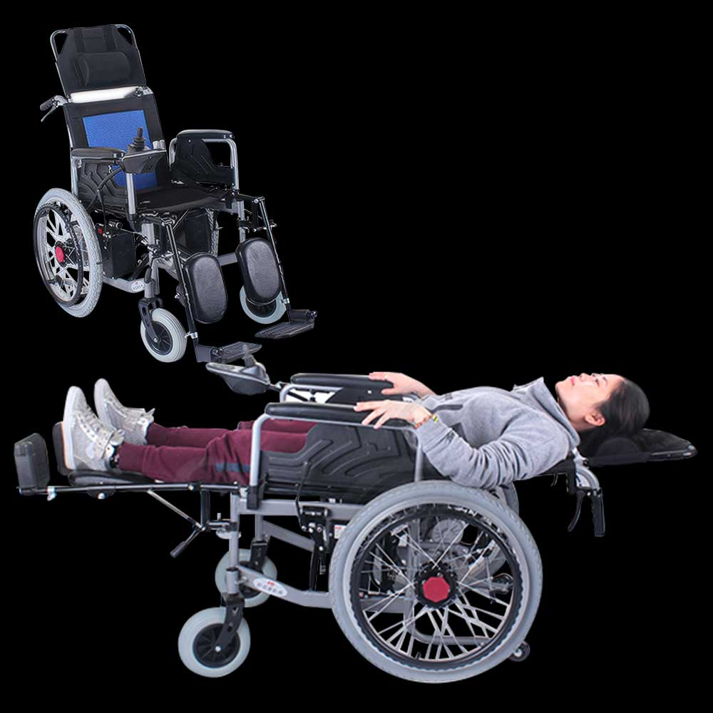 xe lăn điện hiện đại và tiện ích cho người dùng