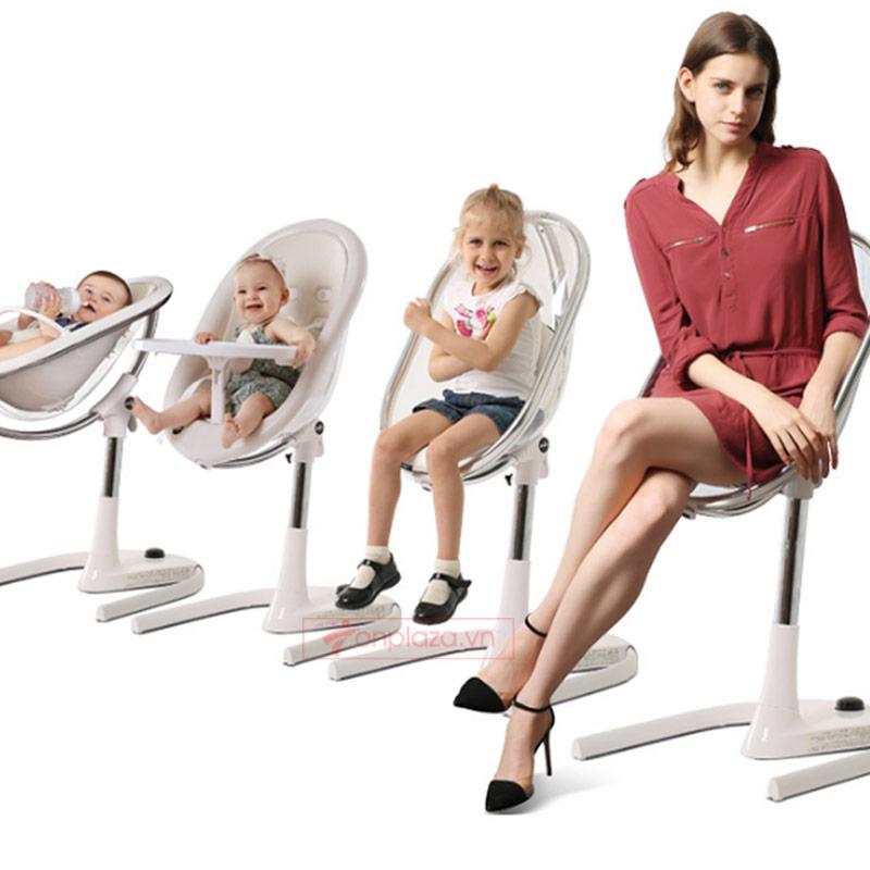 Ghế ăn đa năng cho bé phong cách Châu Âu hiện đại Mima Moon XĐ006