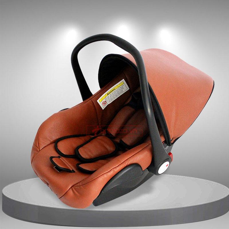 Giỏ ngồi xe đẩy bập bênh kiêm ghế ngồi ô tô  cao cấp an toàn cho bé  XĐ013