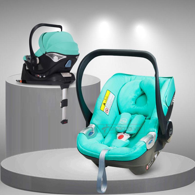 Giỏ nôi bập bênh đa năng kèm đế cố định trên ô tô an toàn cho bé XĐ018