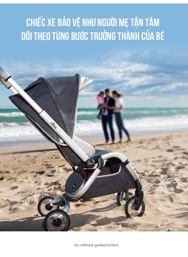 Xe đẩy an toàn cho mọi trẻ nhỏ