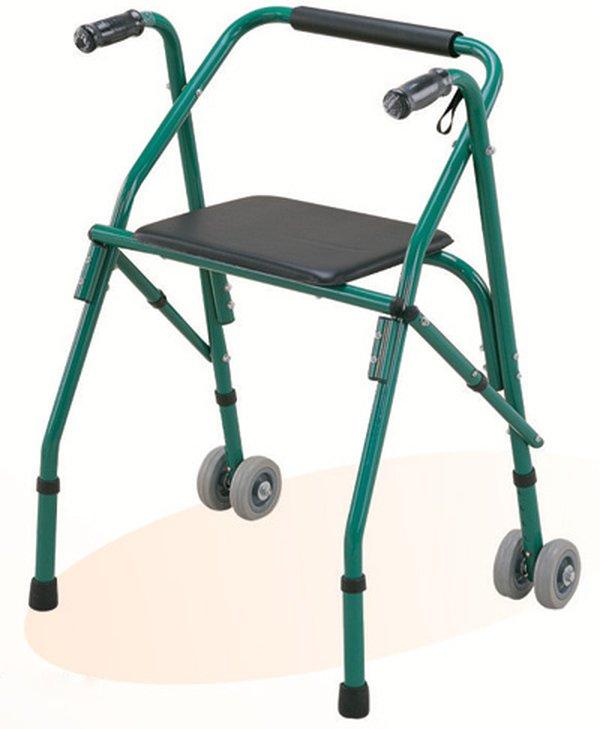 Khung tập đi cho người già loại có ghế ngồi