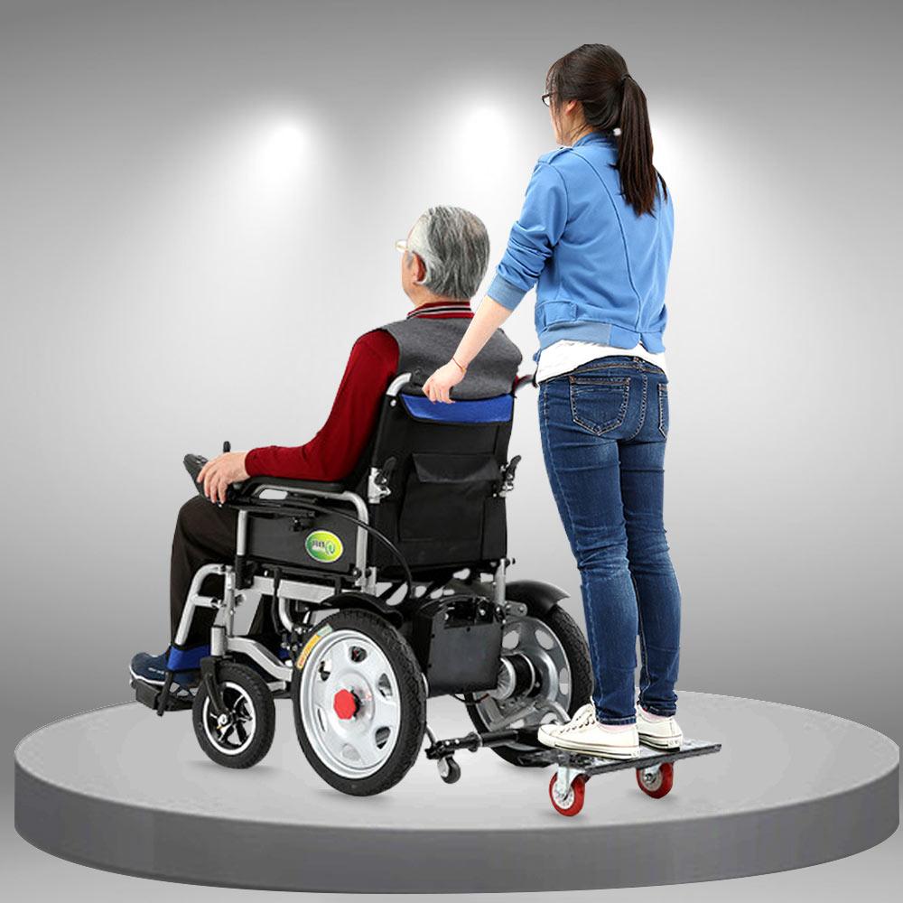 Linh kiện hỗ trợ đứng cùng người sử dụng xe lăn điện PK13-1