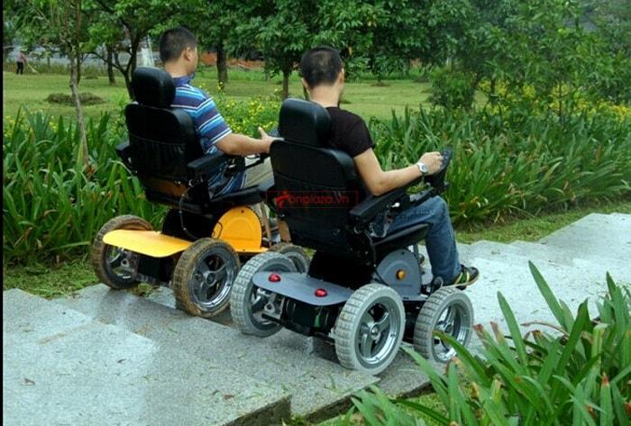 xe lăn vượt mọi loại địa hình