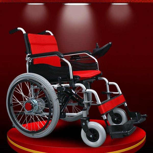 Những lưu ý khi sử dụng xe lăn điện cho đối tượng người già