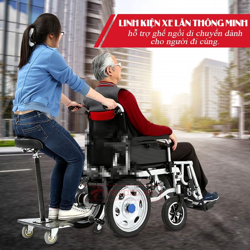 Phụ kiện ngồi sau hỗ trợ người sử dụng xe lăn PK13-2 1