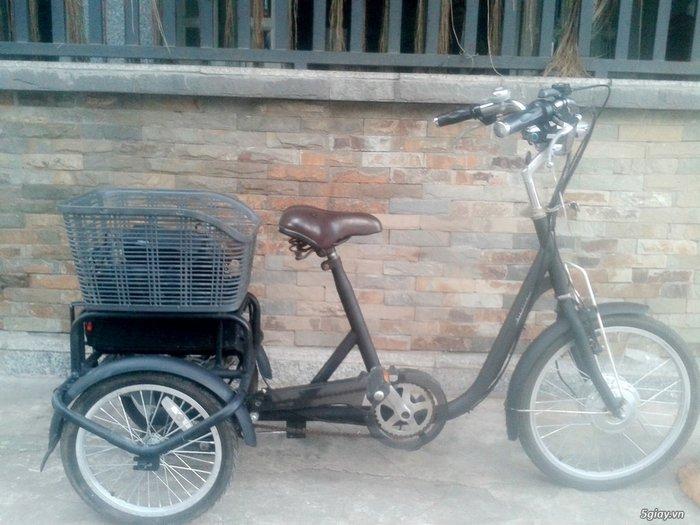 Xe đạp điện 3 bánh Airbike