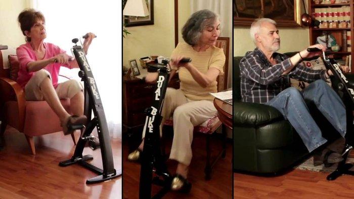 Xe đạp tập thể dục cho người già tại nhà