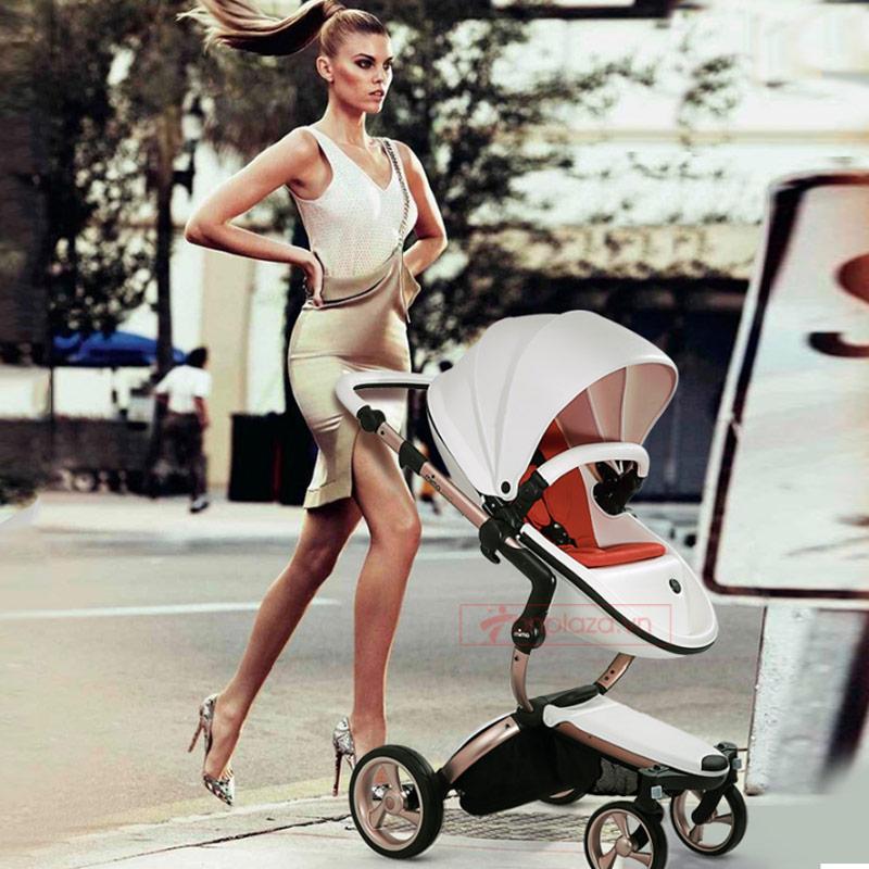 Xe đẩy đa năng cho bé ngắm cảnh tầm cao và giảm chấn an toàn  Mima Xari Plus II XĐ003