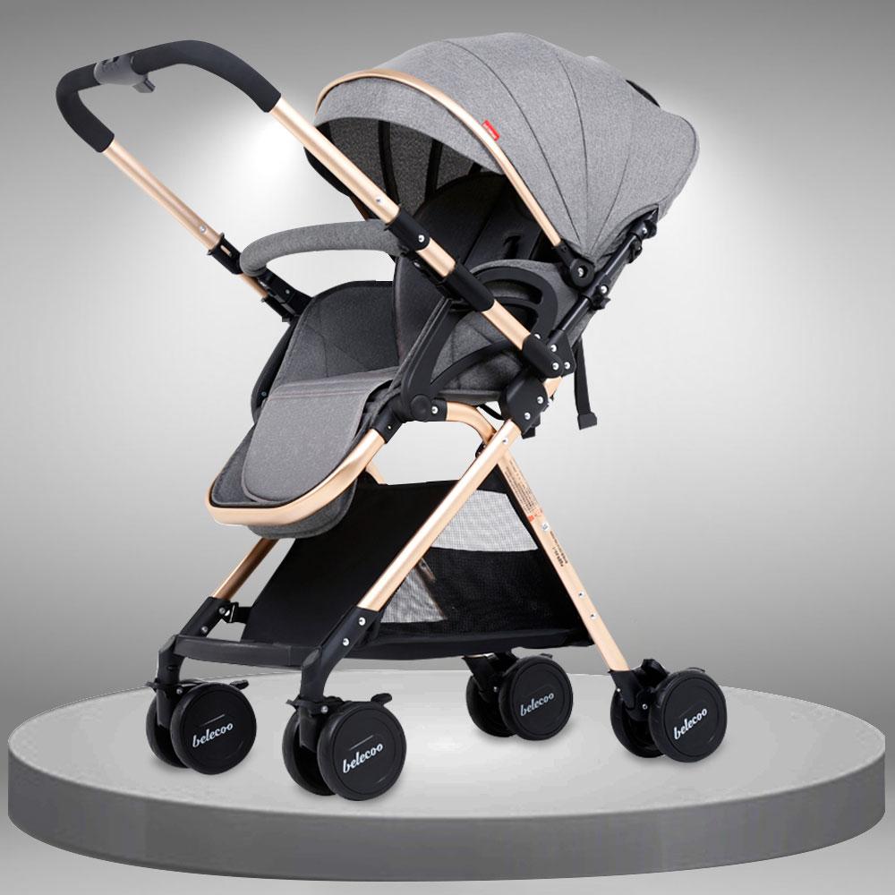 Xe đẩy đa năng đổi chiều cán đẩy giảm chấn an toàn cho bé XĐ022