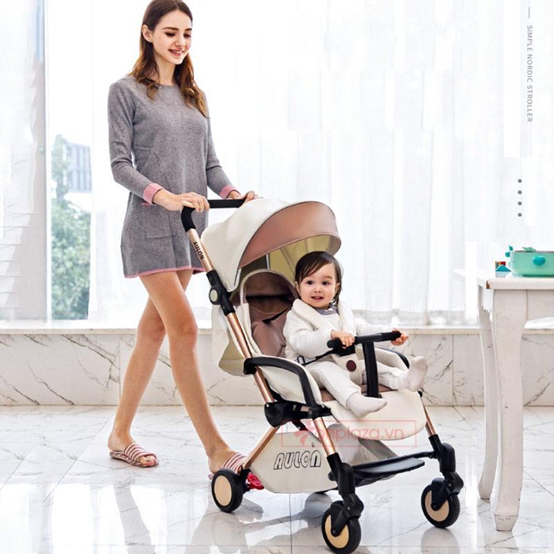 Xe đẩy giảm chấn cao cấp phiên bản đa năng tiện lợi cho bé XĐ011