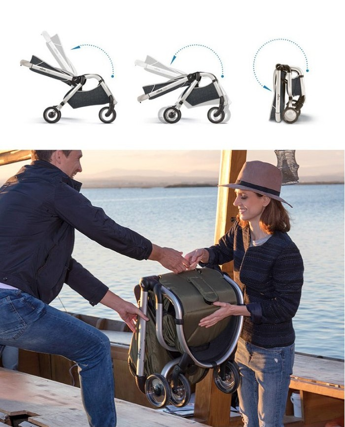 Xe đẩy Mima được thiết kế với các tính năng tuyệt vời