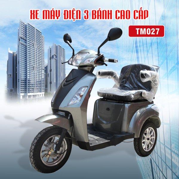 xe điện 3 bánh phù hợp với nhu cầu sử dụng của người khuyết tật