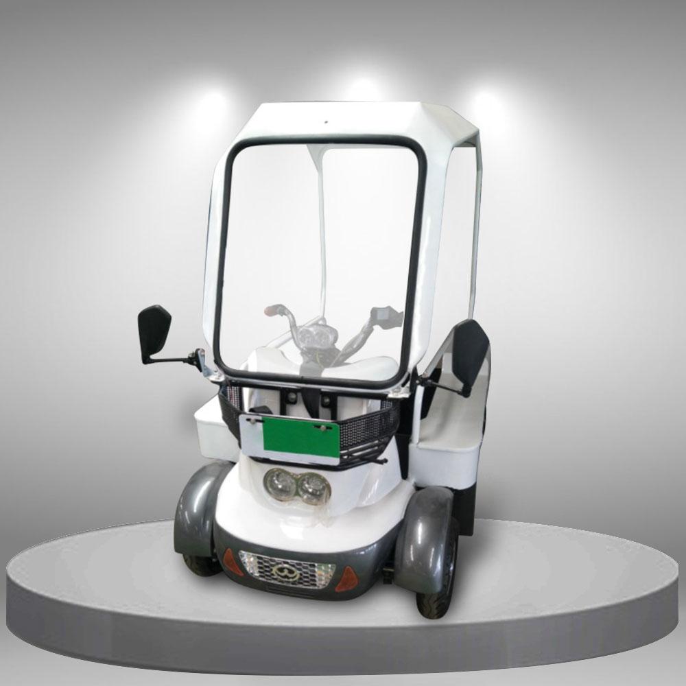 Xe điện 4 bánh có mái che tiện lợi nhập khẩu cao cấp TM088