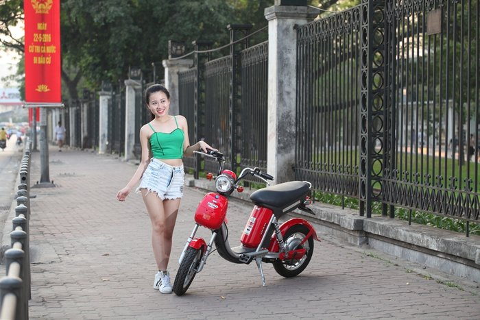 Xe điện Nijia Dibao Eco được giới trẻ ưa chuộng