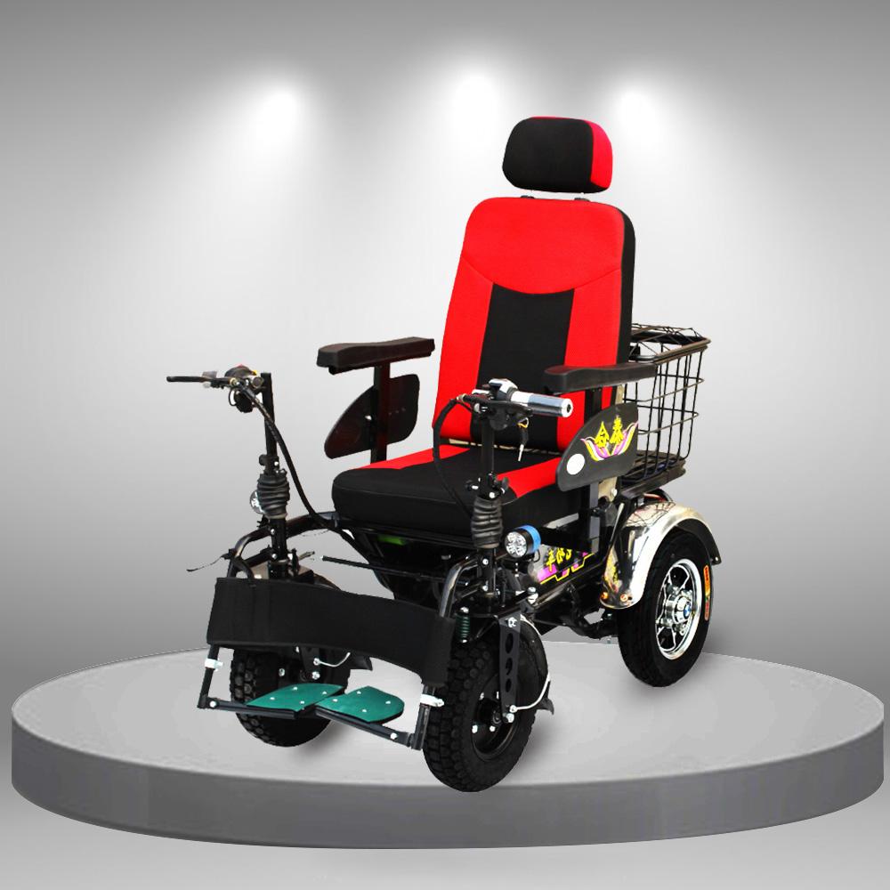 Xe lăn điện bốn bánh đa chức năng cao cấp TM101