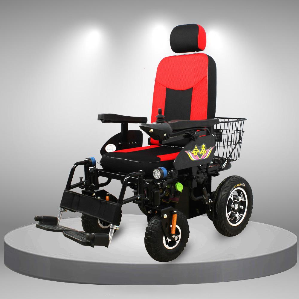 Xe lăn điện bốn bánh đa chức năng nhập khẩu TM102