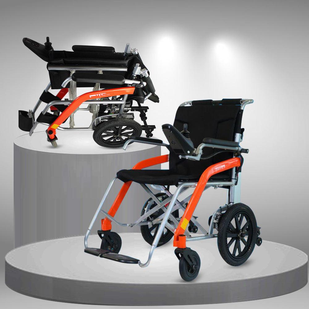 Xe lăn điện cao cấp siêu nhẹ cho người già - người khuyết tật TM054