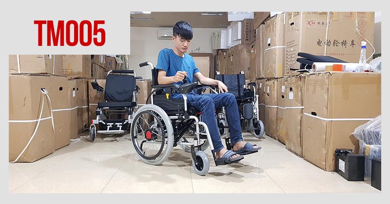 Xe lăn điện cao cấp dành cho người khuyết tật TM005 2