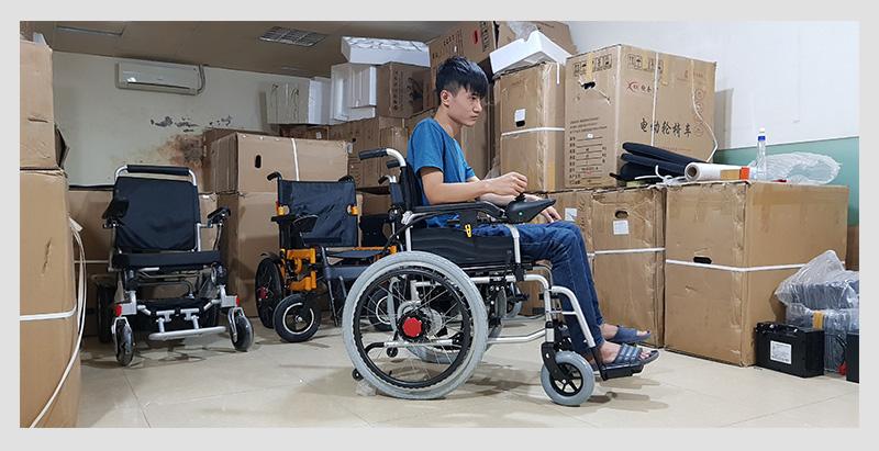 Xe lăn điện cao cấp dành cho người khuyết tật TM005 3