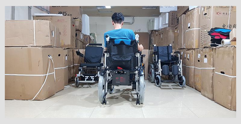 Xe lăn điện cao cấp dành cho người khuyết tật TM005 4