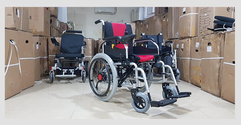 Xe lăn điện cao cấp dành cho người khuyết tật TM005 6