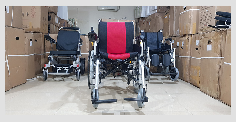 Xe lăn điện cao cấp dành cho người khuyết tật TM005 7