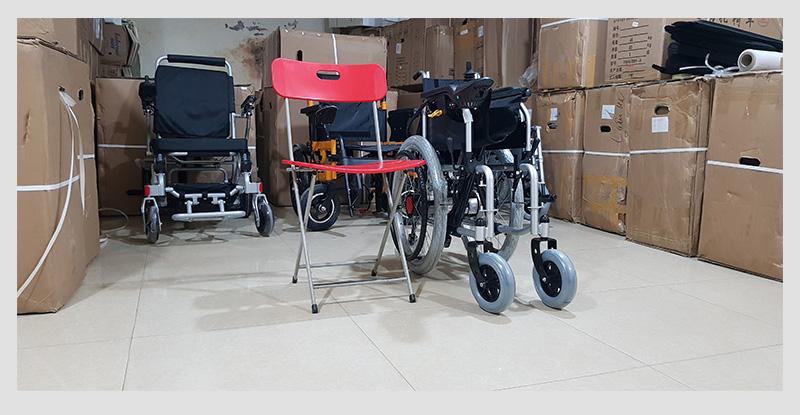 Xe lăn điện cao cấp dành cho người khuyết tật TM005 8