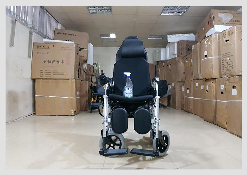 Xe lăn điện công nghệ mới tự động ngả nằm (vành đúc) TM036D 9