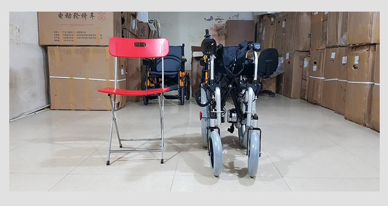 Xe lăn điện công nghệ mới tự động ngả nằm (vành đúc) TM036D 10