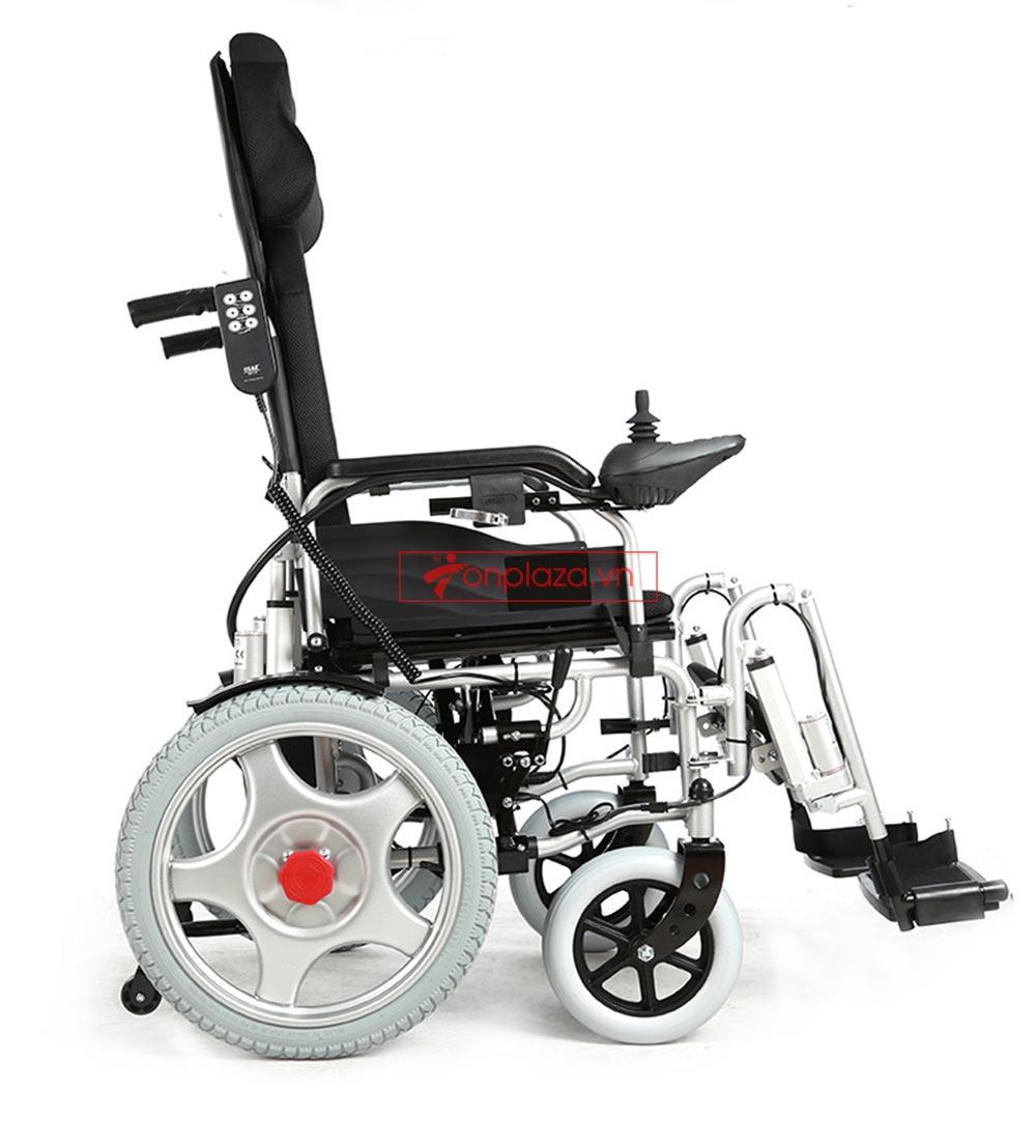 xe lăn điện tự động ngả nằm