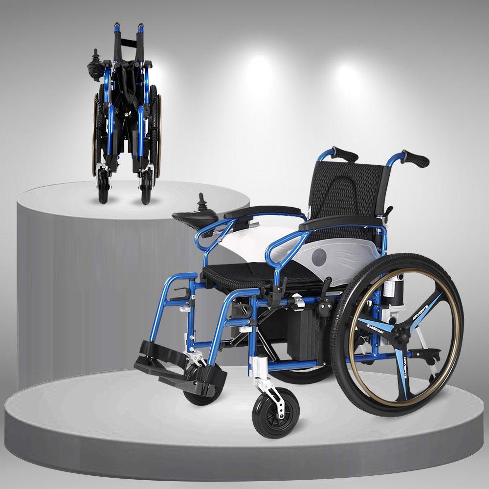 Xe lăn điện đa năng công nghệ Đức có thể gấp gọn nhẹ TM064