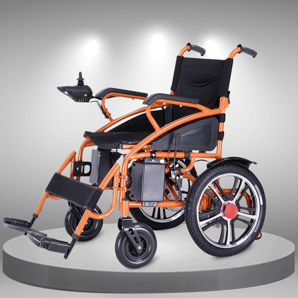 Xe lăn điện điều khiển thông minh bánh lớn nhập khẩu cao cấp TM106