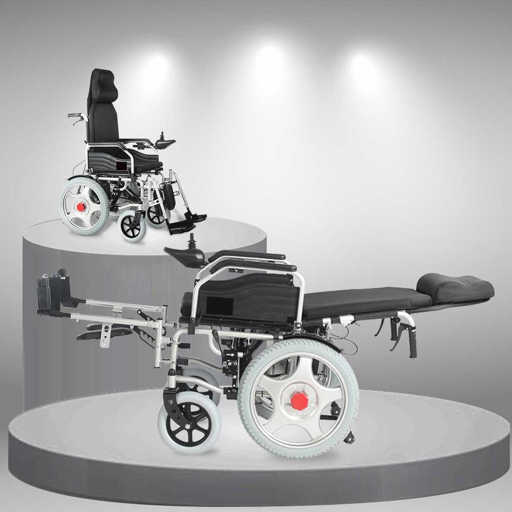Xe lăn điện gấp phục hồi chức năng cao cấp TM034D