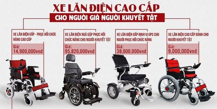 Xe lăn điện hỗ trợ tích cực việc di chuyển của người khuyết tật