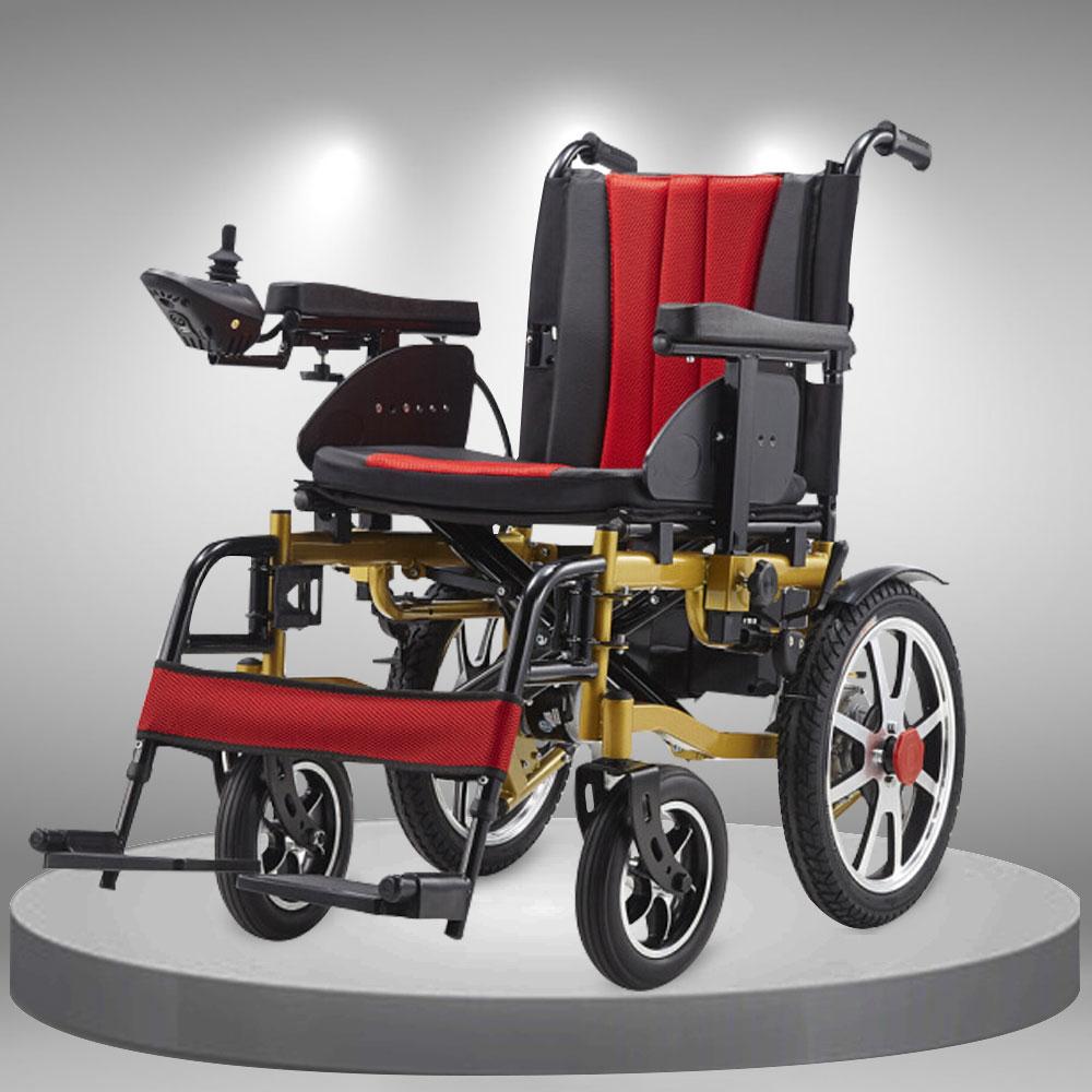 Xe lăn điện nâng tay vịn đa chức năng cao cấp TM111