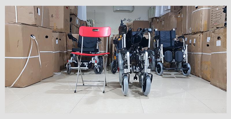 Xe lăn điện cao cấp ngả gập dành cho người tàn tật TM004 6