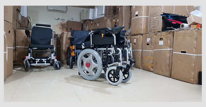 Xe lăn điện cao cấp ngả gập dành cho người tàn tật TM004 7