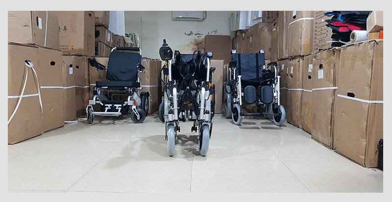 Xe lăn điện cao cấp ngả gập dành cho người tàn tật TM004 8