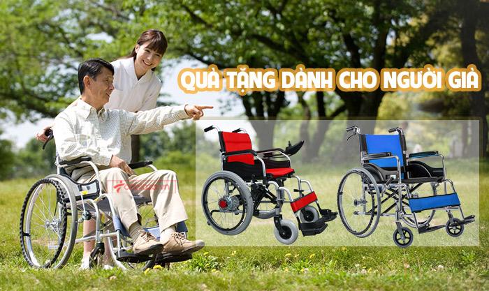 xe lăn điện phù hợp với người già
