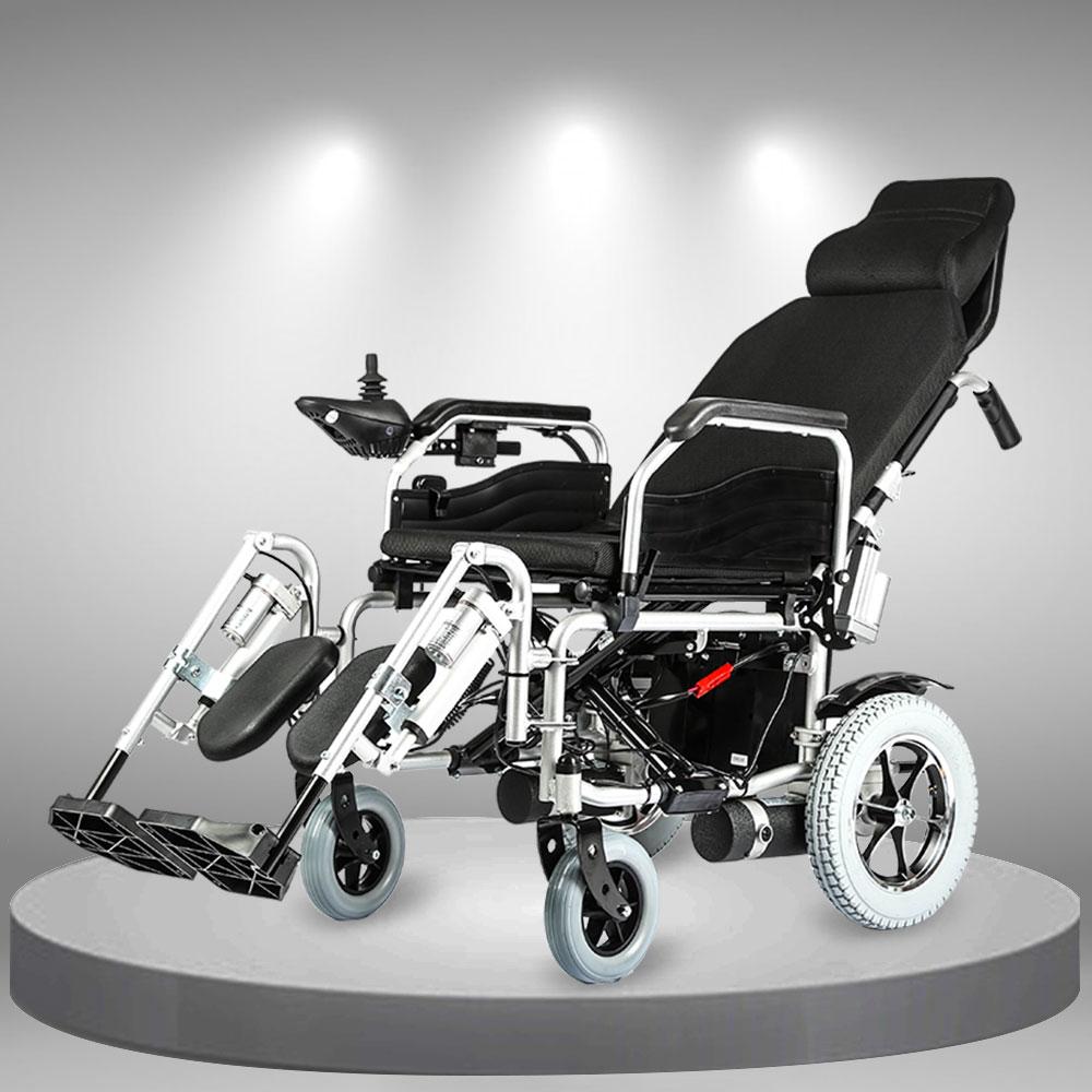 Xe lăn điện phục hồi chức năng dành cho người khuyết tật cao cấp TM093