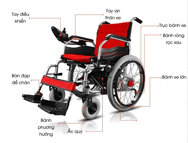xe lăn điện phục hồi chức năng