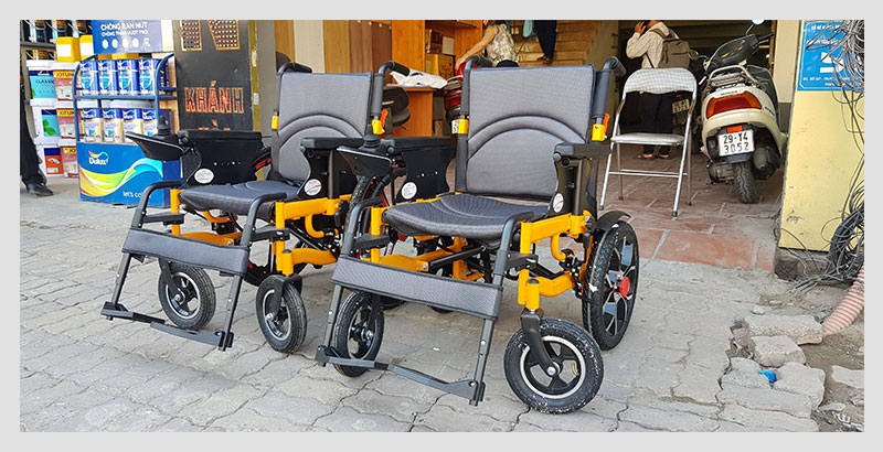 Xe lăn điện thông minh chống lật ngược TM057 3